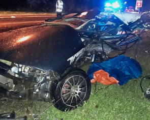 Soon-to-wed couple killed in crash with oncoming car