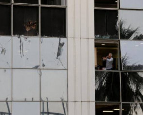 Blast smashes windows, wrecks offices at Greece's SKAI TV in 'attack on democracy'