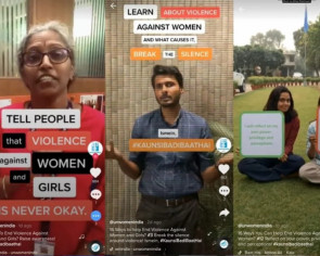 TikTok campaign against gender-based violence in India goes viral