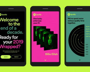 Visualise your year in music with Spotify's Wrapped feature