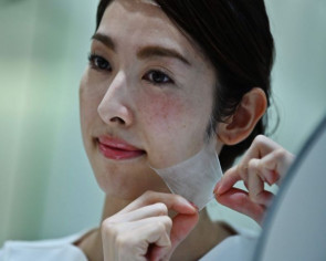 Thin skin: Japan firm develops ultra-fine spray-on facemask