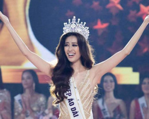 Professional model Tran crowned Miss Universe Vietnam