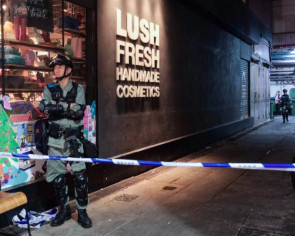 Manhunt after masked robbers hit watch shop in Causeway Bay, Hong Kong