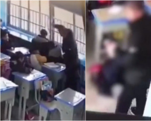Chinese teacher physically abuses students, even suspends them upside down as punishment