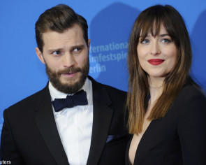 Sexual tension 'off the charts' for Fifty Shades Of Grey