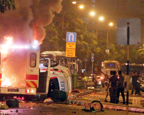 Two Little India rioters jailed for more than two years each