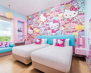 Here's the ultimate weekend getaway for Hello Kitty fans
