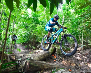 3 great mountain biking trails in Singapore. Yes, Singapore