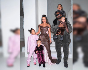 Kim Kardashian West's children's playroom has its own stage