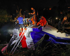 6 cops injured in chopper crash in Sabah, cause unknown