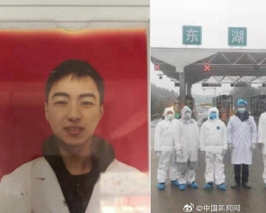 Wuhan virus: Hunan health worker, 28, dies after 10 straight days on frontline
