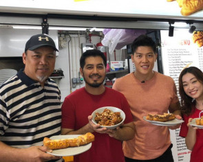 Get Out!! This young hawker gives youtiao a modern twist with Nutella, cheese and Oreo toppings