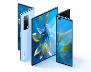Huawei's third foldable phone has an 8-inch screen that folds inwards