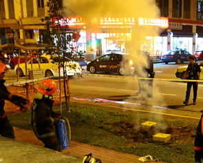 Fire at Jalan Besar grass patch