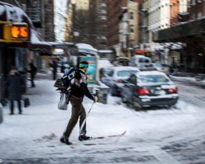 Major US cities face blast of arctic air