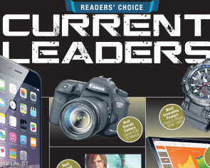 Who's leading in the Digital Life Readers' Choice race?