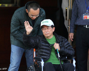 Former Taiwan president Chen visits hospital for first time since release