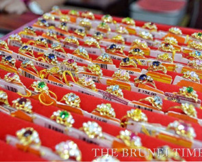 Jewellery sales flat in Brunei ahead of CNY