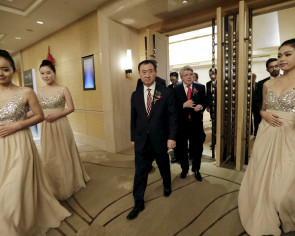 Chinese tycoon scripts his own Hollywood dreams
