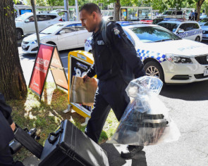 Australian police arrest man over suspect embassy packages