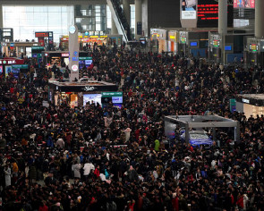 China introduces new technologies to ease Lunar New Year travel rush