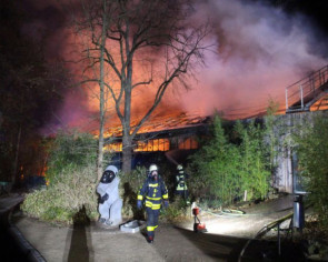 Fire kills animals at zoo in western Germany