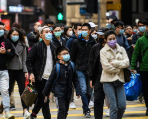 Hong Kong workers told to stay at home as coronavirus spreads