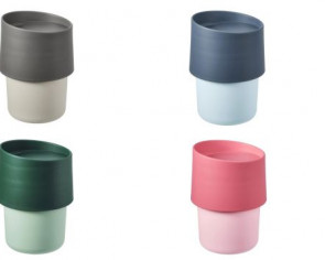 Ikea recalls Troligtvis travel mugs after tests show they release above-normal levels of plastic softener