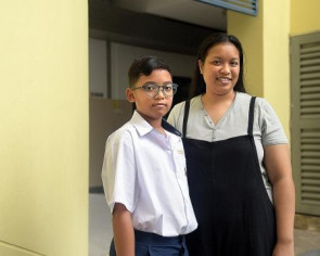 11-year-old pushes on after road accident to win bursary award