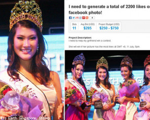 Miss Earth Singapore hit by vote-buying controversy
