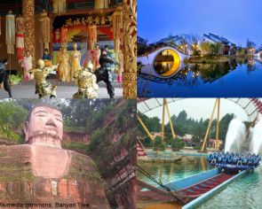 Top 20 most visited tourist destinations in China