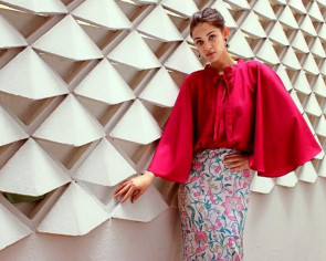 Transforming batik into modern fashion pieces