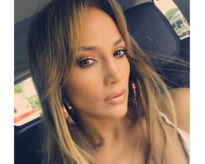 Look: Jennifer Lopez sizzles in barely-there dress at 47th birthday party