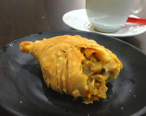 Best thing I ate this week: Chicken curry puff