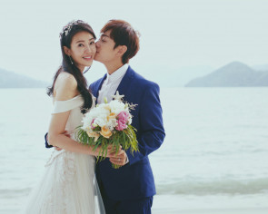 Jesseca Liu's wedding dress - how she found her perfect gown