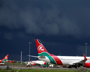 Body found in London garden of stowaway who fell from Kenya Airways jet