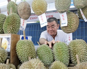 Durian season coming to an end