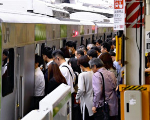 Railway companies in Japan go high-tech to beat the heat ahead of Tokyo Olympics