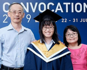 NTU student overcomes two brain haemorrhages to graduate
