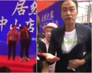 Hong Kong actor Simon Yam stabbed in abdomen at promotional event in China