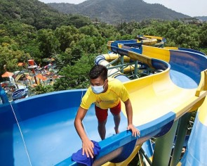 World's longest water slide in Penang set to thrill again