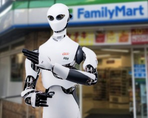 Of course, Family Mart in Japan is introducing robot cashiers