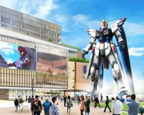 China suits up for an 18-metre, life-sized Freedom Gundam in 2021