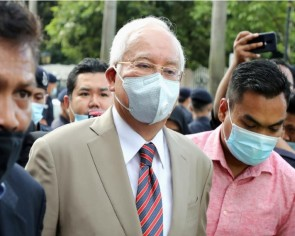Malaysian ex-PM Najib convicted on all 7 charges in first 1MDB trial