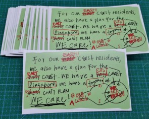 East Coast plan meme gets turned into $2 stickers for donation drive, raises $1,000 for charity