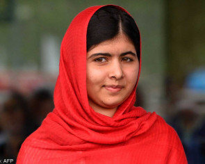 Cut '8 days of military spending' for education: Malala