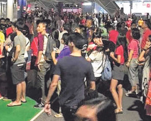 SEA Games volunteer: Spectators denied entry were fierce
