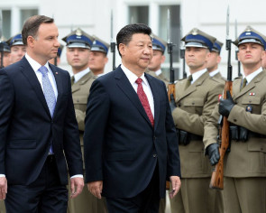 China's Xi weaves Poland into 'new silk road' plan
