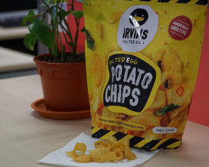 Best thing I ate this week: Irvins salted egg potato chips