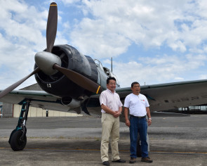 Dreaded WWII Zero fighter takes to the skies over Japan